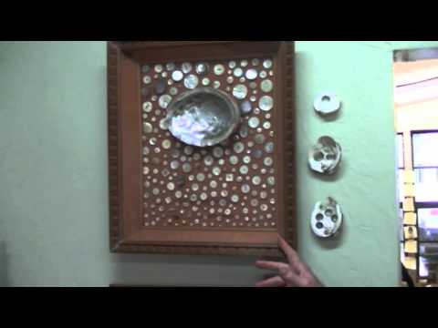 Display of Mother Of Pearl Buttons 09 17 2014