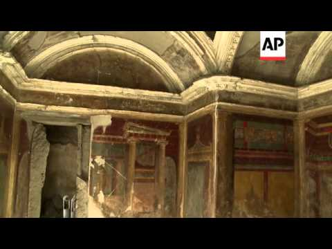 Restored villa shows luxury of Imperial Rome