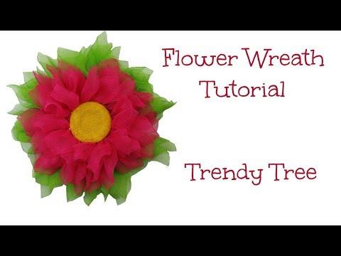 2018 Flower Wreath Tutorial - Facebook Live Recap