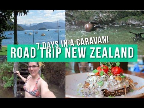 VEGAN ROAD TRIP NEW ZEALAND - 7 Days in a Caravan