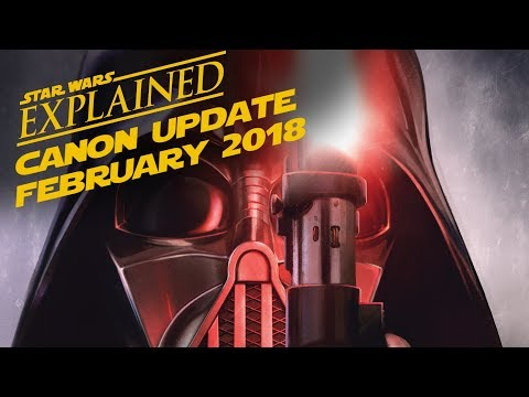 February 2018 Star Wars Canon Update