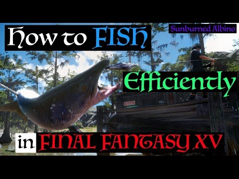 How to Fish Efficiently in Final Fantasy XV