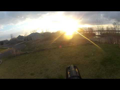 Testing GoPro Paintball Barrel Mount
