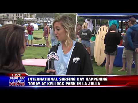 KUSI Good Morning San Diego Highlights TropicSport Sunscreen Swap Event on International Surfing Day