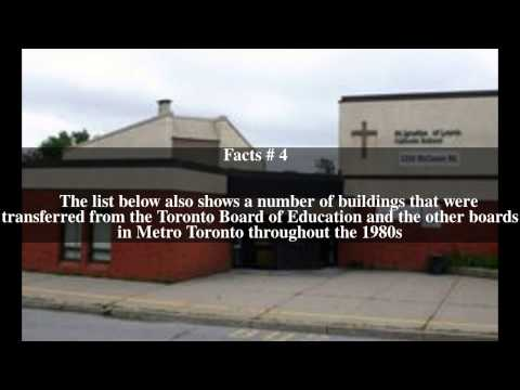 List of schools in the Toronto Catholic District School Board Top # 6 Facts