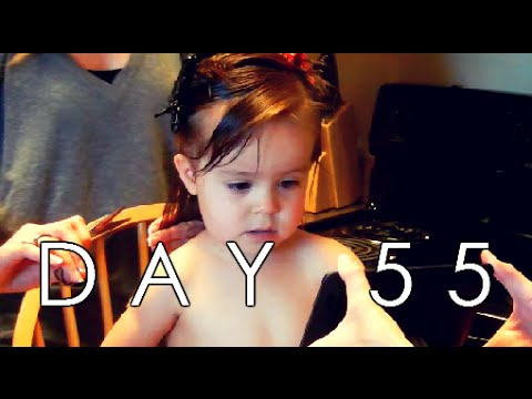 BABY'S FIRST HAIRCUT! - D55 (9/21/15)