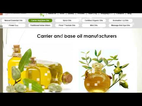 Aroma Essential oil Store Provides Best quality essential oils in india