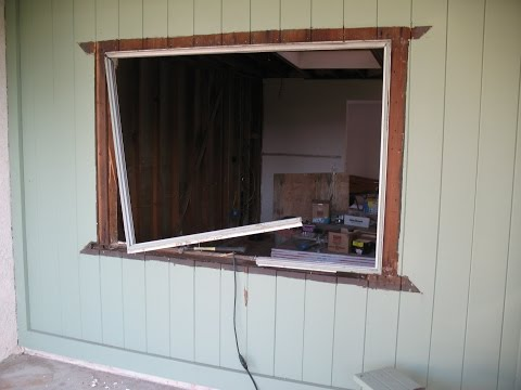 How To Frame Window Opening in Existing Windowless Wall – Part One