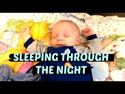 TWINS ARE SLEEPING THROUGH THE NIGHT