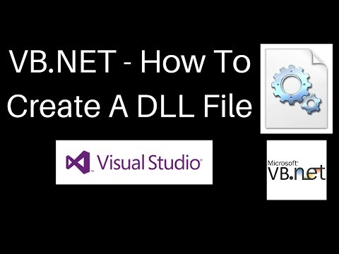 VB.NET - How To Create A DLL [2017]
