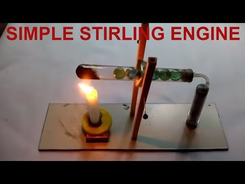 Simple Stirling Engine Homemade