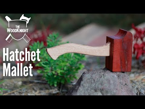 How to build a (hatchet inspired) woodworking mallet