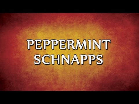 Peppermint Schnapps | RECIPES | EASY TO LEARN