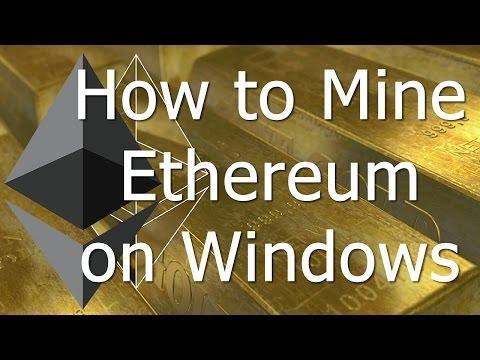 How To Mine Ethereum On Windows (GPU / CPU)
