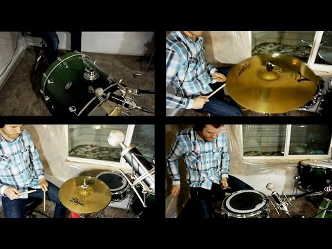 One Mic for Drums? Record them Piece by Piece!