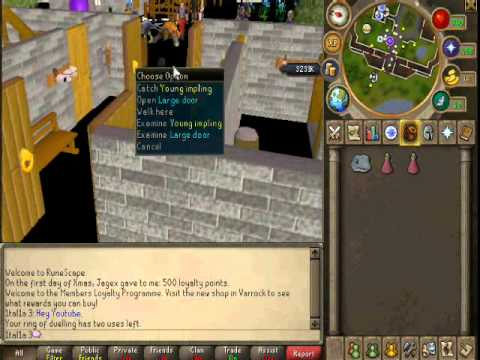 How to get a gecko on Runescape 2011.