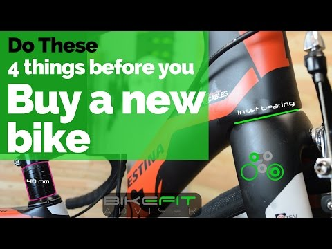 Do these 4 things before you buy a new bike