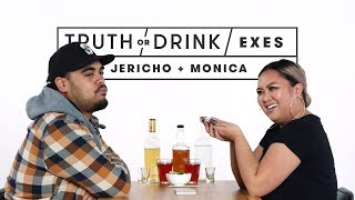 Exes Play Truth or Drink (Jericho & Monica) | Truth or Drink