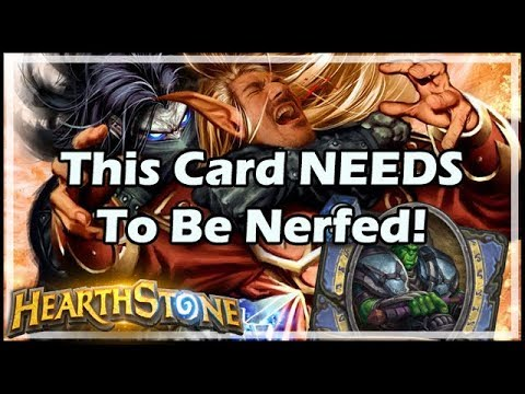This Card NEEDS To Be Nerfed! - Witchwood / Hearthstone