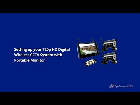 How to Set up 720p HD Digital Wireless CCTV System