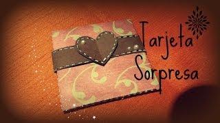 Primer proyecto del día de los enamorados, una tarjeta chiquita y muy fácil de realizar para regalar.