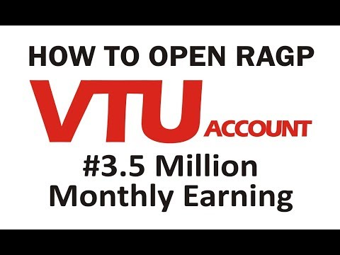 How To Create A VTU Account | Recharge And Get Paid