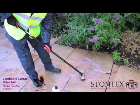 STONTEX RUST OFF -  how to remove rust stains from natural stone