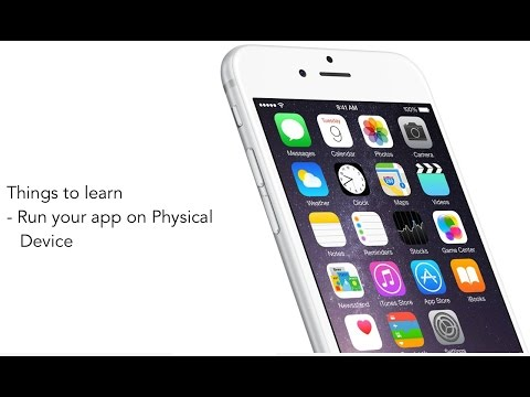 How to run your iOS app on Physical device - Xcode 7