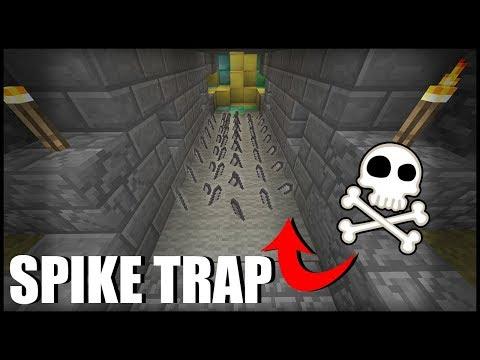 Working Spike Trap in Minecraft