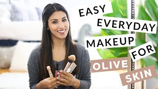 Easy Everyday Makeup Tutorial for Indian/Olive Skin
