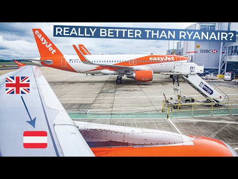 TRIPREPORT | EasyJet (ECONOMY) | London Gatwick - Vienna | Airbus A320