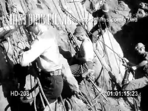 BOULDER DAM CONSTRUCTION / HOOVER DAM, 1930S