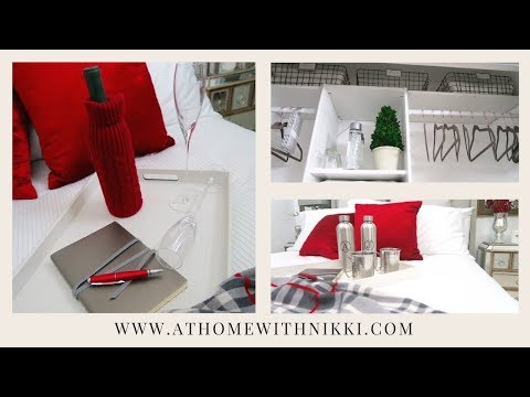 DIY  2017 HOLIDAY GUEST BEDROOM  REFRESH,  PREP & TIPS | Getting Ready For Christmas
