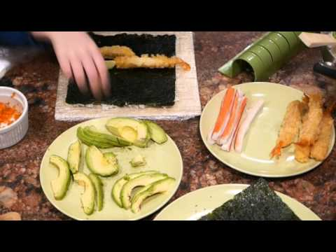 How to make a Shrimp Tempura Roll