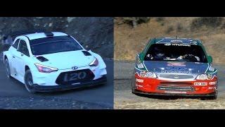 Test 15 years ago Hyundai i20 2017 VS Hyundai Accent WRC 2002