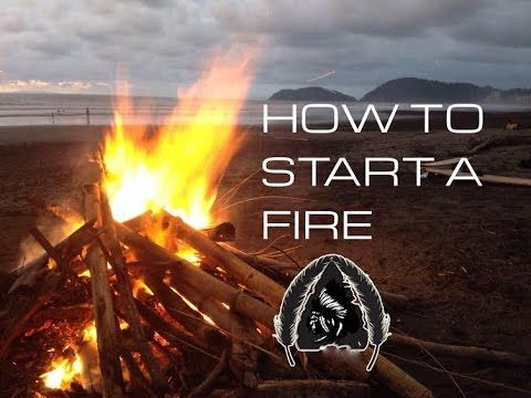 Black Scout Tutorials - How to Start/Build a Fire