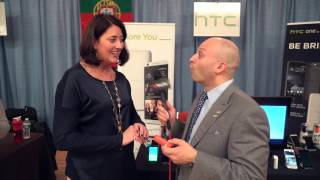 HTC Showcases their New Products on The Michael Artsis Show!