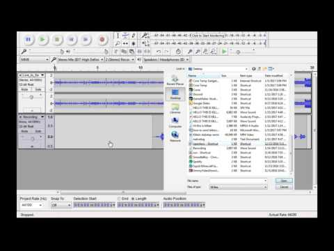 How To Remix A Song With Audacity