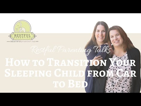 How to Transition Your Sleeping Child from Car to Bed