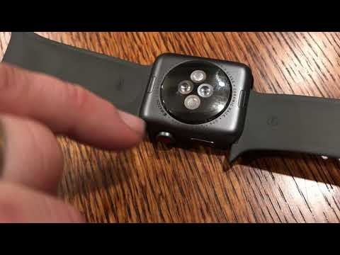 How to remove the bands from an iWatch Apple Watch