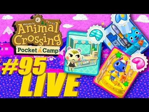 NEW UPDATE FORTUNE COOKIES AND MORE!! - Animal Crossing: Pocket Camp Live Stream