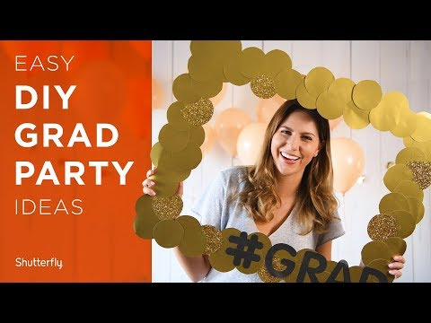 Graduation Party Ideas: DIYs, Decor and More For 2018