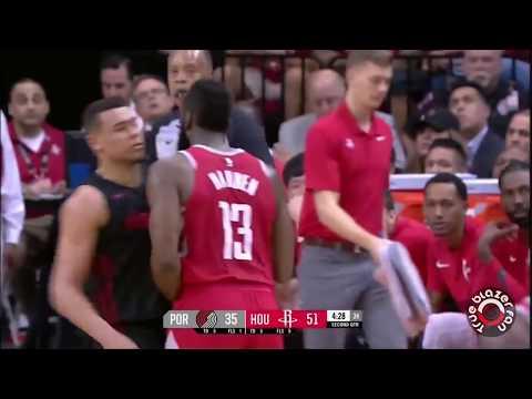 Portland Trail Blazers vs Houston Rockets - Full Game Highlights - April 5, 2018