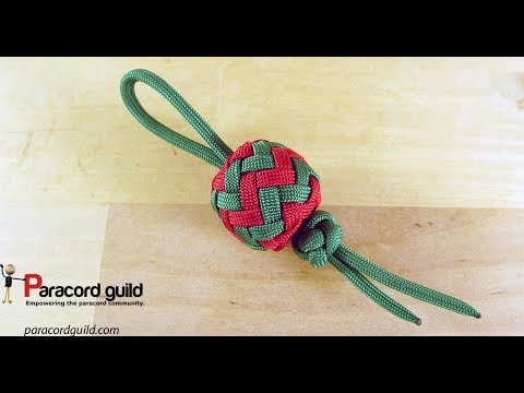 Paracord Christmas tree decorations- baubles