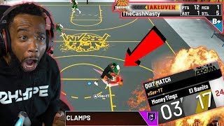 MAKING A DRIBBLE GOD QUIT WITH MY MAXED BADGE LOCKDOWN! NBA 2K20 PARK