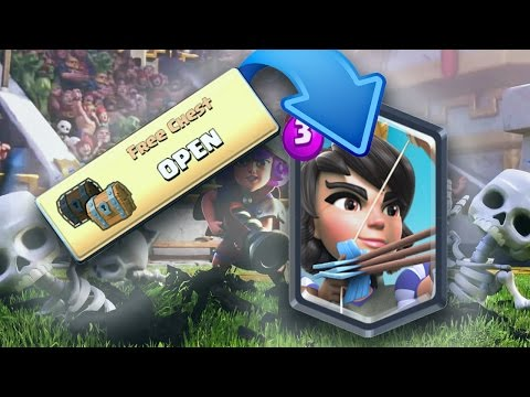 How to get a legendary card in Clash Royale! WITH PROOF!!! 2017 WORKING
