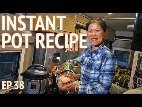 INSTANT POT RECIPES Healthy Cooking   EP38 Camper Van Life