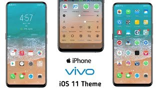 TEMA IOS-11 & MIUI-10 untuk vivo funtouch os 3/4  ios 11