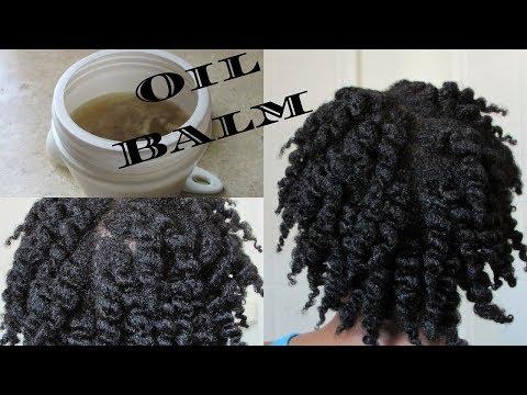 NEW DIY Hot Oil Treatment Hair Balm