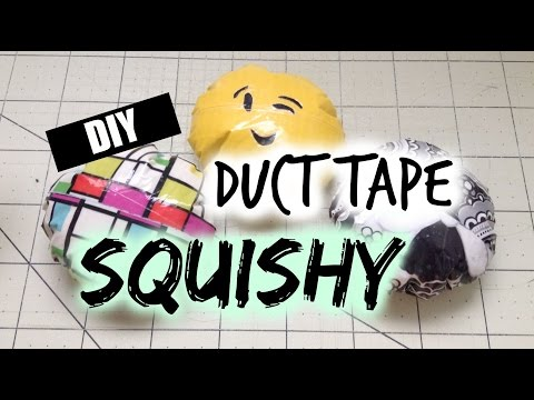 DIY Duct Tape Squishy Tutorial! | Alyssa's Arts